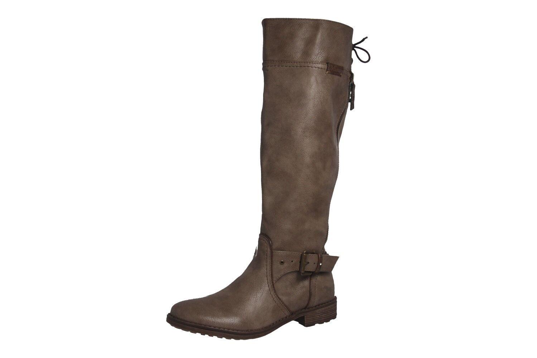 Mustang skor stövlar Plus Storlek stor kvinnor skor Beige XXL