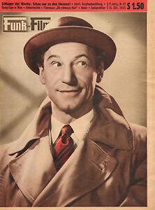 FUNK-UND-FILM-1955-nr-42-JOZEF-MEINRAD-BURGTHEATEREROFFNUNG-MANTOVANI