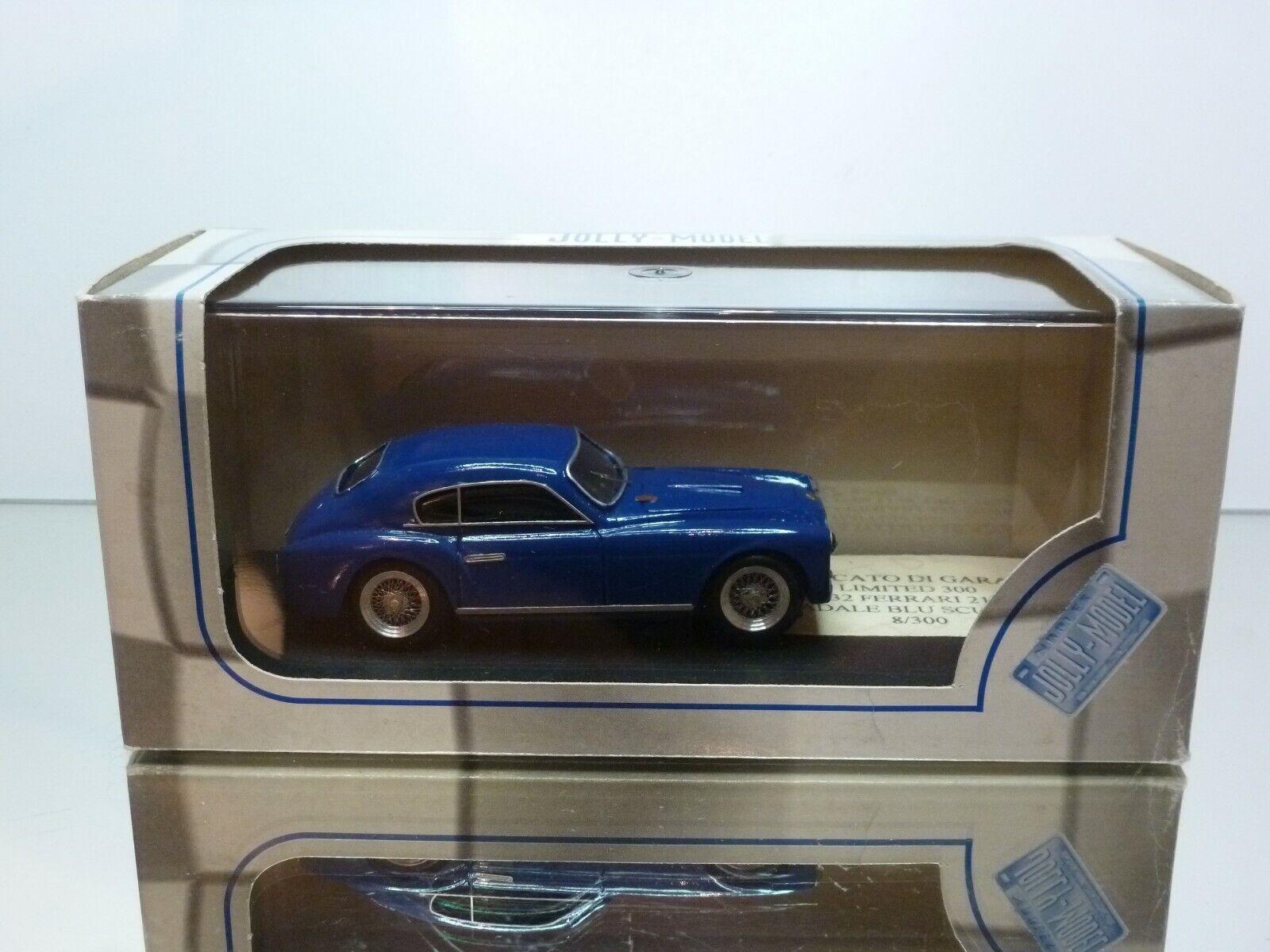 grandi risparmi JOLLY modello JL0332 FERRARI 212 212 212 GHIA STRADALE - blu 1 43 - EXCELLENT IN scatola  vendendo bene in tutto il mondo