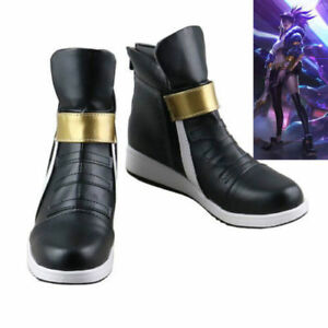 League of Legends kDa Akali Cosplay chaussures livraison gratuite