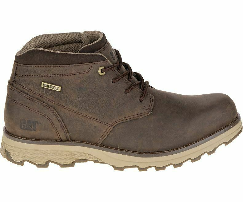 CAT Mens Elude Waterproof Stiefel In Dark braun