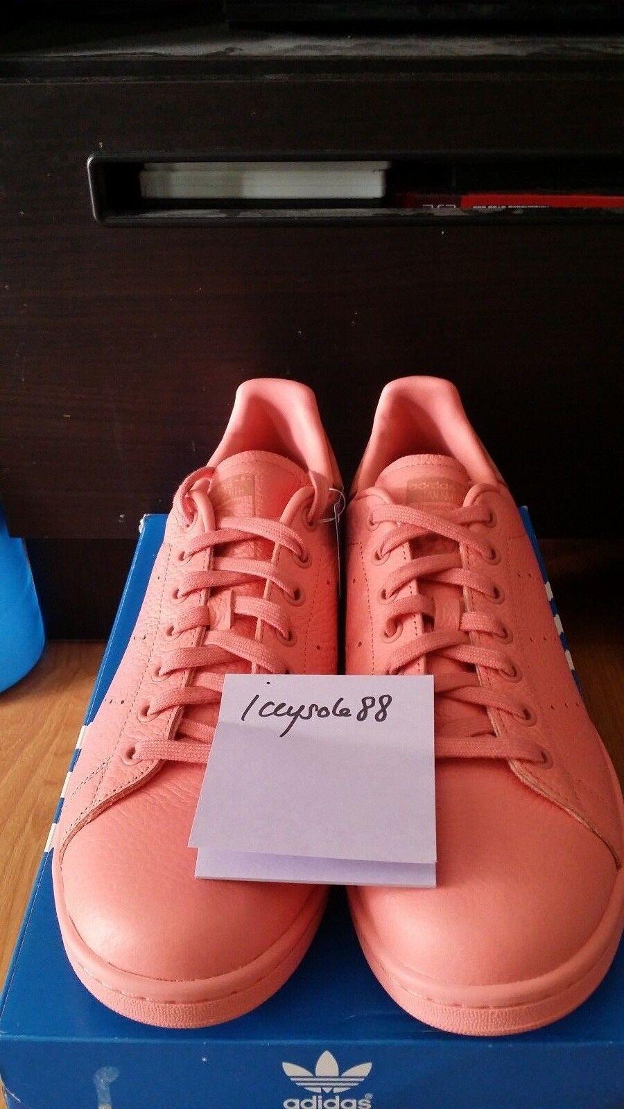 Adidas Originals Stan Smith cuero crudo rosa bajo rosa pastel bz0469 tenis bajo rosa 5edab2