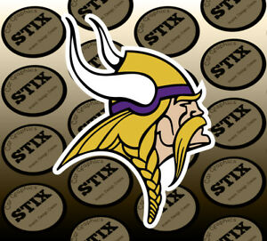 Minnesota-Vikings-Logo-NFL-Die-Cut-Vinyl-Sticker-Car-Window-Laptop-Wall-Decal
