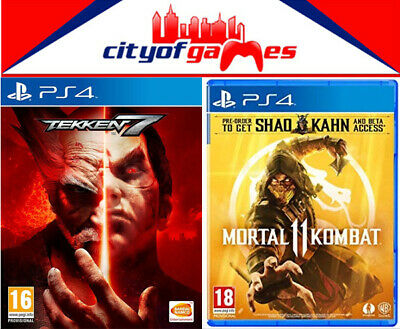 Tekken 7 Mortal Kombat 11 Bundle Ps4 Game New Sealed In Stock Ebay