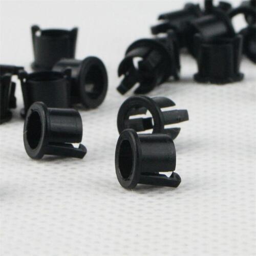 100 LED Montageringe f 5mm LEDs Fassung Kunststoff CLIP Halter Halterung