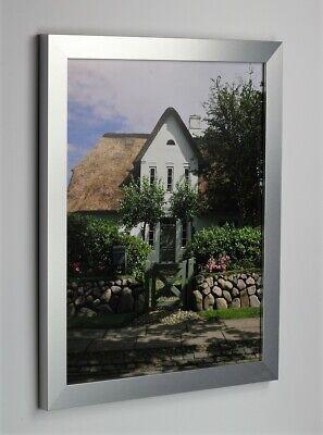 Bilderrahmen BONANZA in Alu gebürstet Größenwahl Foto Poster Rahmen