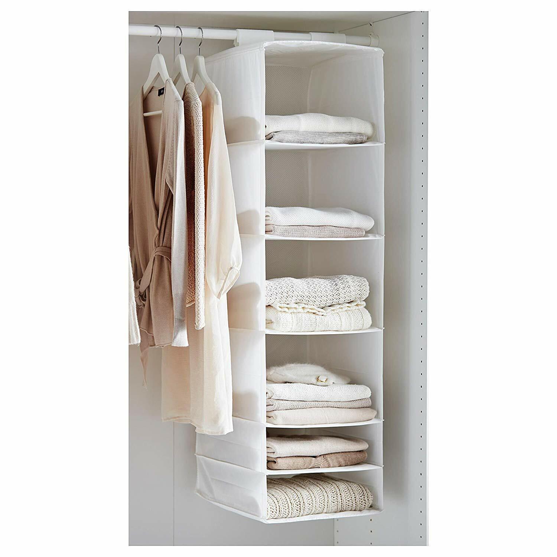 IKEA 403.000.49 Organizer with 6  Compartments, bianca  - 17¼x13½x4¼