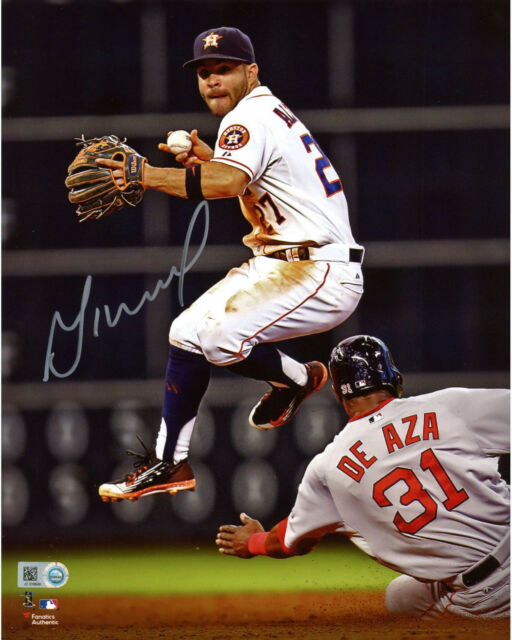 JOSE ALTUVE and GEORGE SPRINGER  (H ASTROS )  -  5x7 SIGNED GREAT PHOTO REPRINTS