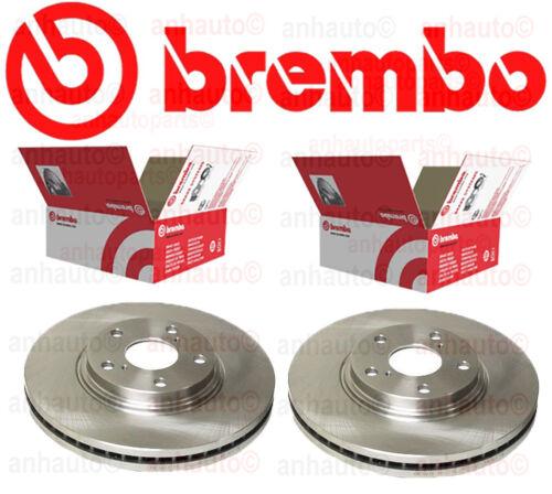 Set of 2  Brembo 25533 Front Disc Brake Rotor  ES330 RX300 Camry Highlander