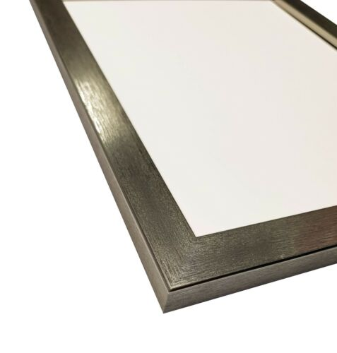 Frames by Post 0.75 Silver Picture Photo Frames Available in 29 different sizes