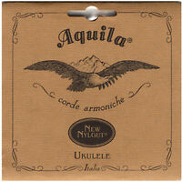 Aquila Nylgut Soprano Ukulele Strings Set AQ-4U Regular Tuning GCEA High G Italy
