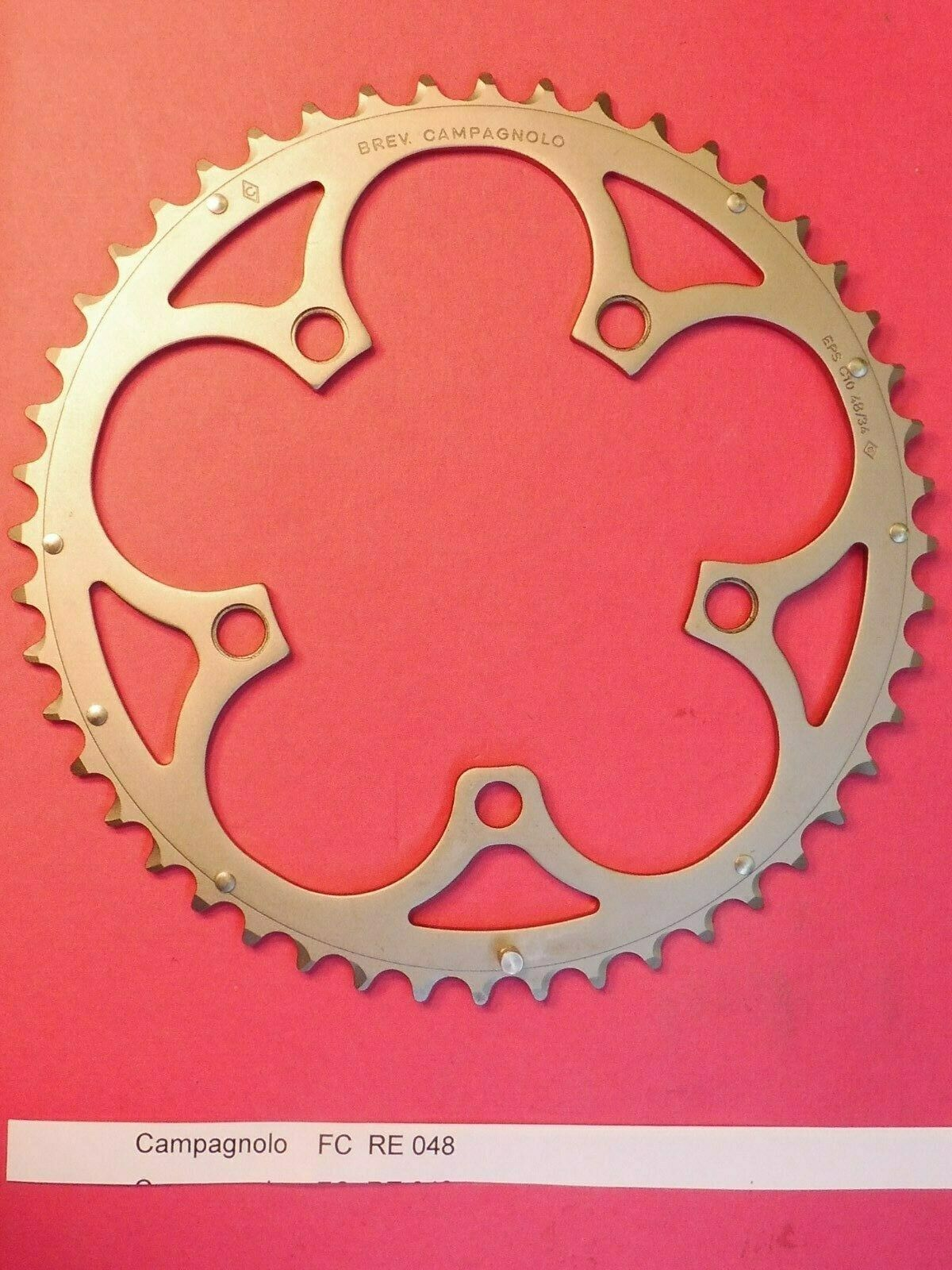 Campagnolo Record CT 10 Speed - 48 t ( FC  RE048 ) chainring   NOS L'eroica  with 100% quality and %100 service