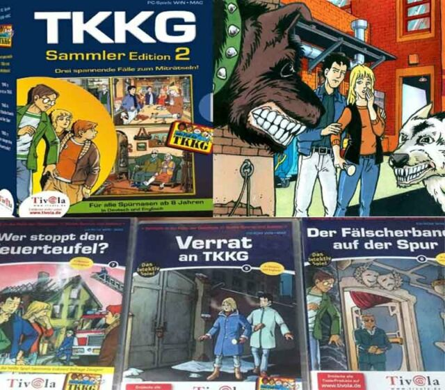 TKKG PC Sammlung TKKG: Sammler Edition 2 TOP TKKG PC SPIELE