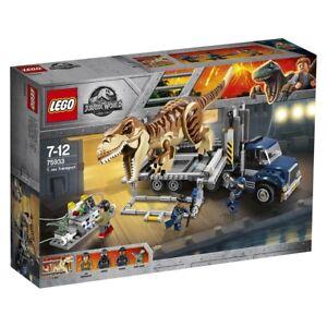 LEGO-Jurassic-World-75933-T-Rex-Transport-passt-zu-75918-Neu-amp-OVP
