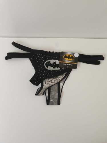 DC Comics Batman ladies Thongs Lingerie Pk Of 3 Women/'s cotton knickers Primark