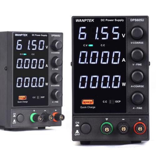 300W DC-Schaltnetzteil 4-stellige LED-Anzeig 220V 60V 5A WANPTEK Lab DPS605U