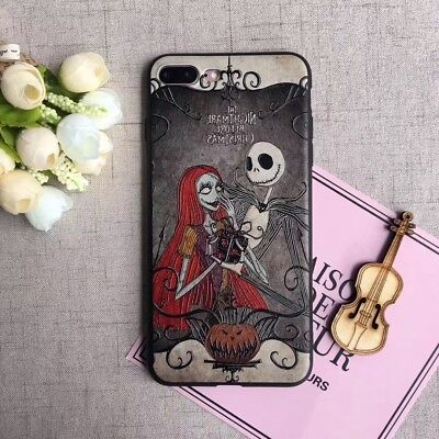Soft Phone Case For iPhone XS Max XR Nightmare Halloween Christmas Holiday Gift