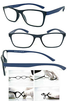 Memory ULTEM (High End Material) Frame Clear Lens Reading Glasses +1.00 to +4.00