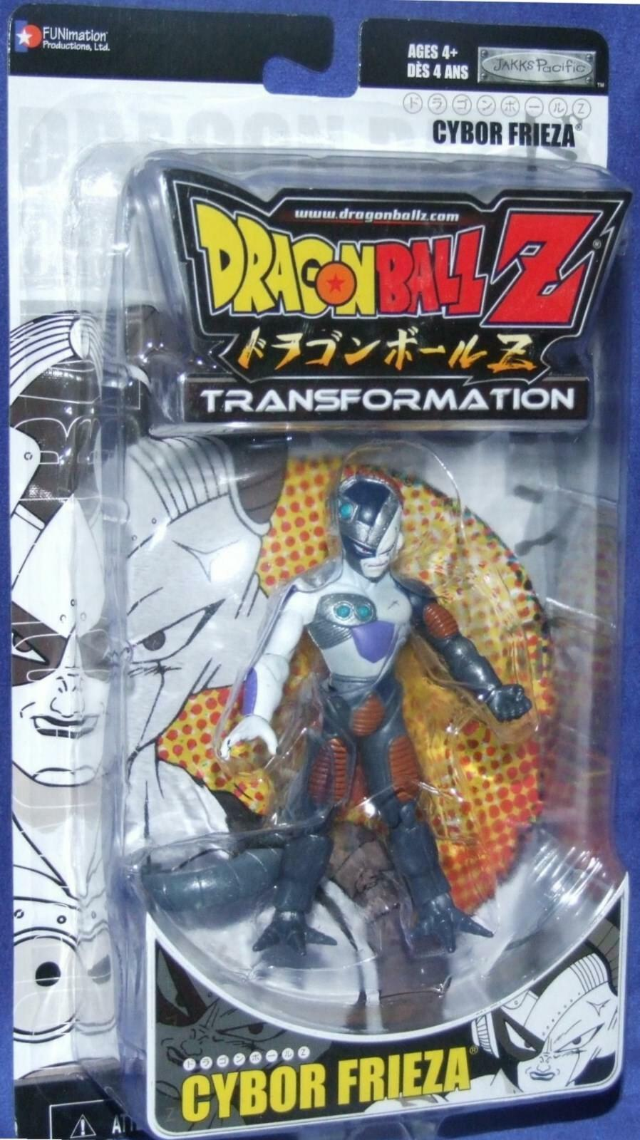 drakekboll Z Transformation CYBOR FRIEZA Factory förseglad New Jakks Pacific 2006