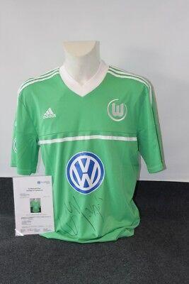 Vfl Wolfsburg Trikot, Bas Dost Signiert, Xl