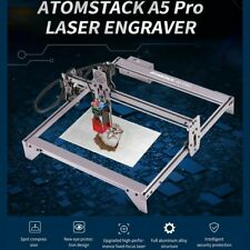New Listingatomstack A5 Pro 40w Fixed Focus Laser Engraver Engraving Cutting Machine 2a 24v