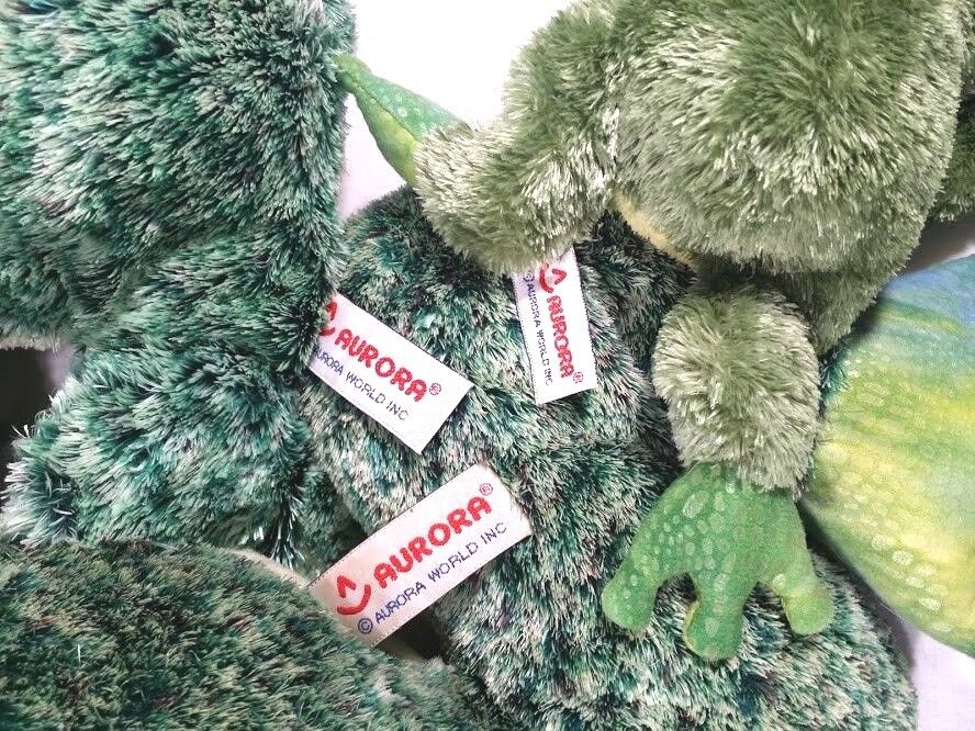 Aurora World Inc Flopsies Collection Fluffy Fluffy Fluffy Frog Family Set of 3 - 19