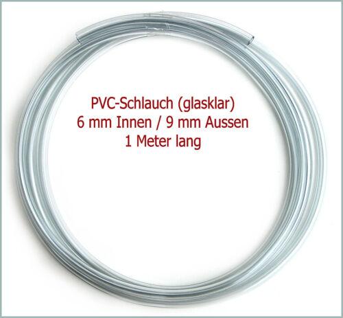 PVC-Schlauch für Konzentrator pro Meter 1,10€//m 6//9 mm