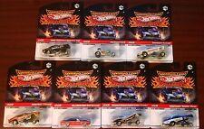 Hot Wheels 2009 Drag Strip Demons #1-7 Lot NEW