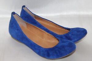 Soft Sz Suede Leather Cece Crew 125 5 Elasticized J Flat Blue Ballet Royal 7 qUFtnwUIv