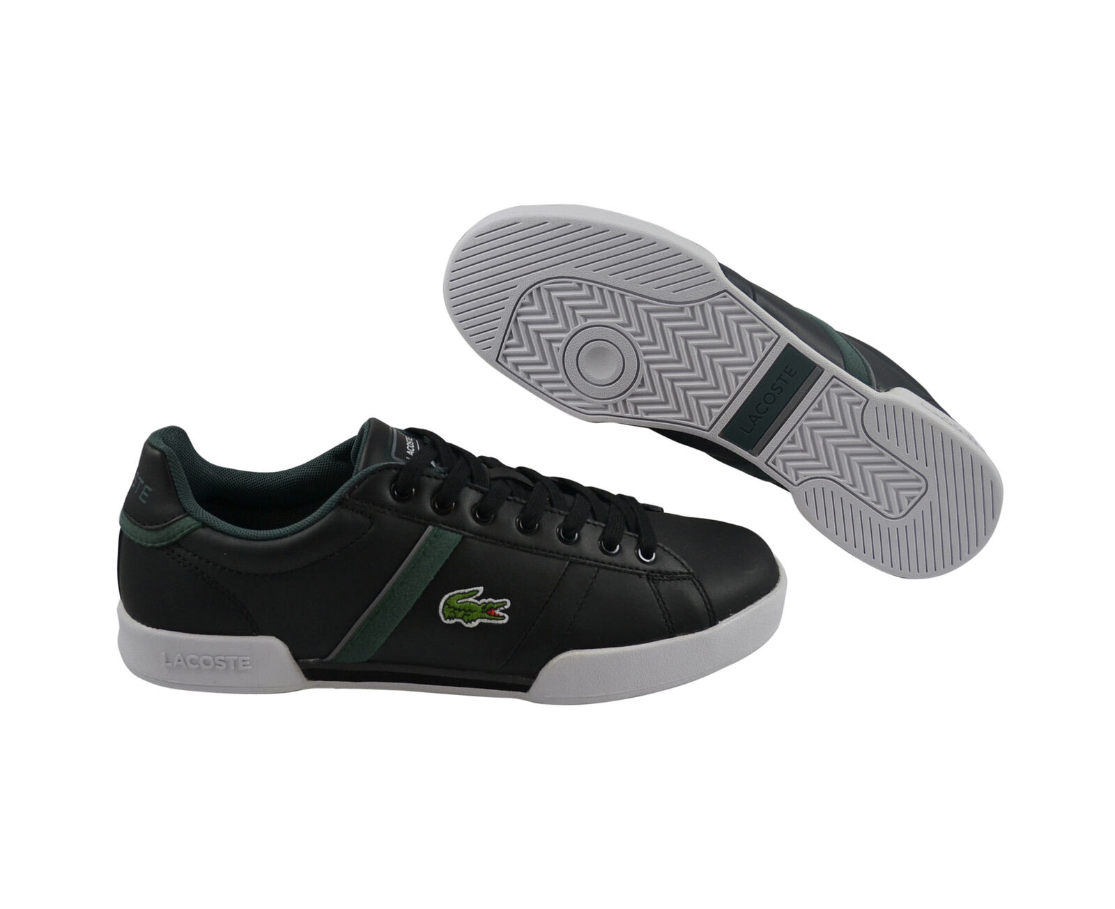 Lacoste deston put SPM negro negro zapatos cortos negro
