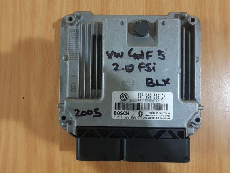 VW Golf 5 2.0 FSI BLX 2005 Bosch ECU with part#06F 906 056 DH