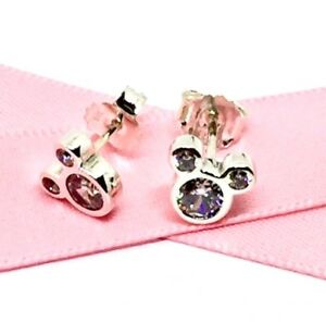 0bbe56e3b Image is loading Genuine-Pandora-Mickey-Mouse-Stud-Earrings