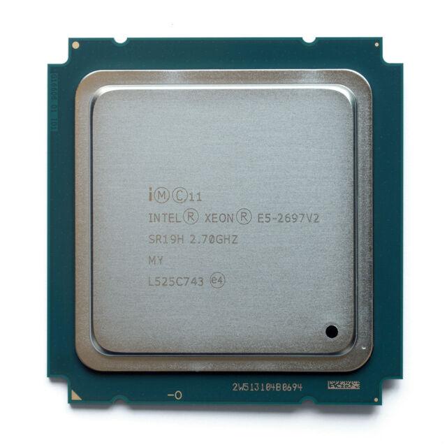 NEW Intel Xeon E5-2697 v2 OEM CPU 2.7GHz 12-Core 130W SR19H Mac Pro 2013 Upgrade