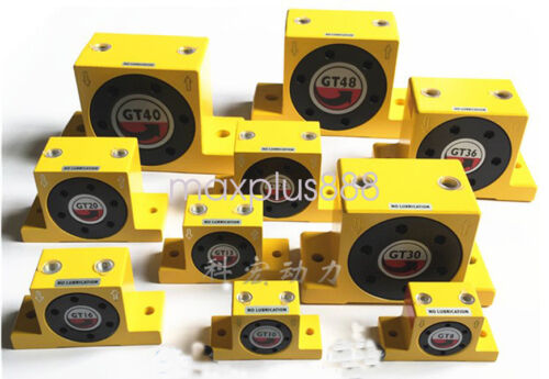Details about  /Industrial type Pneumatic compressed air power turbine wheel type vibrator GT48
