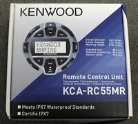 Kenwood Kca-rc55mr Marine Wired Remote Control For Select Kenwood Headunits