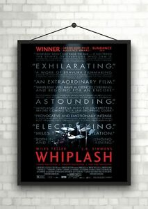Whiplash Classic Movie Large Poster Art Print Maxi A1 A2 A3 A4