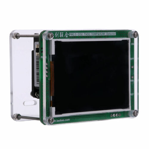 PMS3003 TEMP 2019 English version PM1.0 PM2.5 PM10 Detector HUMI TFT LCD
