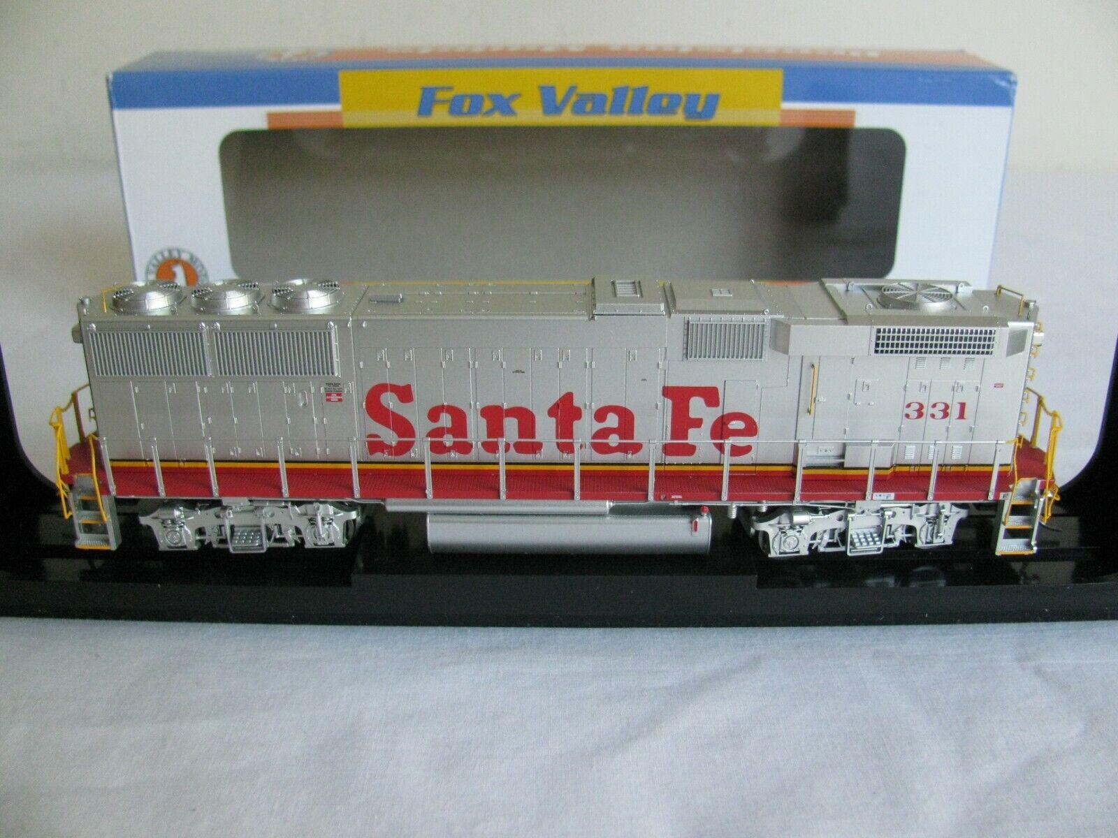 70% de descuento Fox Valley Models 331 Santa Fe GP60B Diesel con DCC DCC DCC & ESU Lok Sound  20152-S ex  Seleccione de las marcas más nuevas como