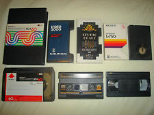 Video - DVD Transfer Service - VHS, Betamax, U-Matic, EIAJ, N1500, N1700 tapes