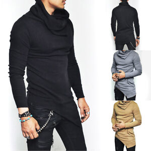 Fashion-Winter-Men-Slim-High-Neck-Pullover-Turtleneck-Sweater-Tops