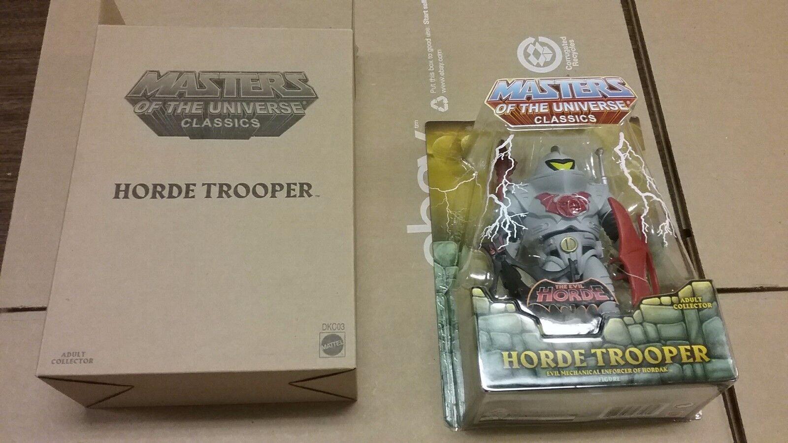 MOTU Classics Horde Trooper Single Figure Release 2017 NEW Ships Worldwide