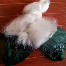 30M x 1.0M Clear White Fishing Fish Trap Monofilament Gill Net Nylon Silk Net
