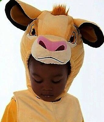 BRAND NEW NWT DISNEY STORE SIMBA LION KING PLUSH COSTUME BABY TODDLER SIZE 3T 3