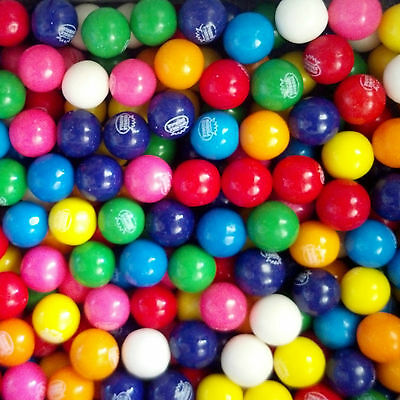 "2-1/2 lbs  Dubble Bubble 1/2"" (13mm)  Gumballs Assorted 8 flavors  500 count"