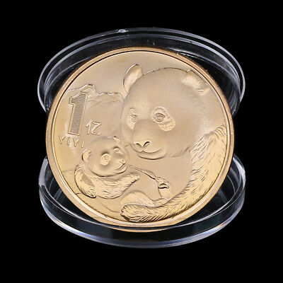2019 China Panda Commemorative Coin Silver Plated Souvenir Coin New Year Gifts T