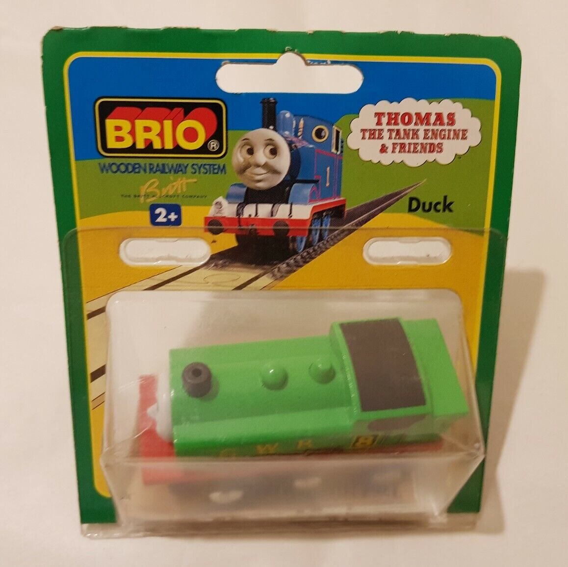 Thomas The Tank Engine & freunde BRIO DUCK Holz TRAIN HolzEN NEW IN BOX