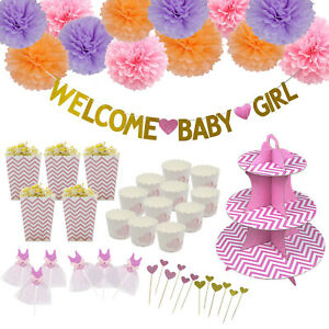 Stupendous Welcome Baby Birthday Party Cake Toppers Cupcake Decor Paper Funny Birthday Cards Online Alyptdamsfinfo