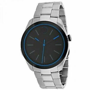 Movado Bold Motion Series Mens Smartwatch Stainless Steel Quartz Watch 3660003
