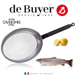 de-Buyer-Carbone-PLUS-ovale-Fischpfanne-32-cm