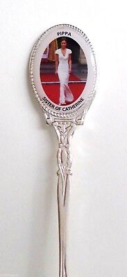 Royal Wedding Catherine Kate Middleton Silver-Plated Collector/'s Spoon RW009